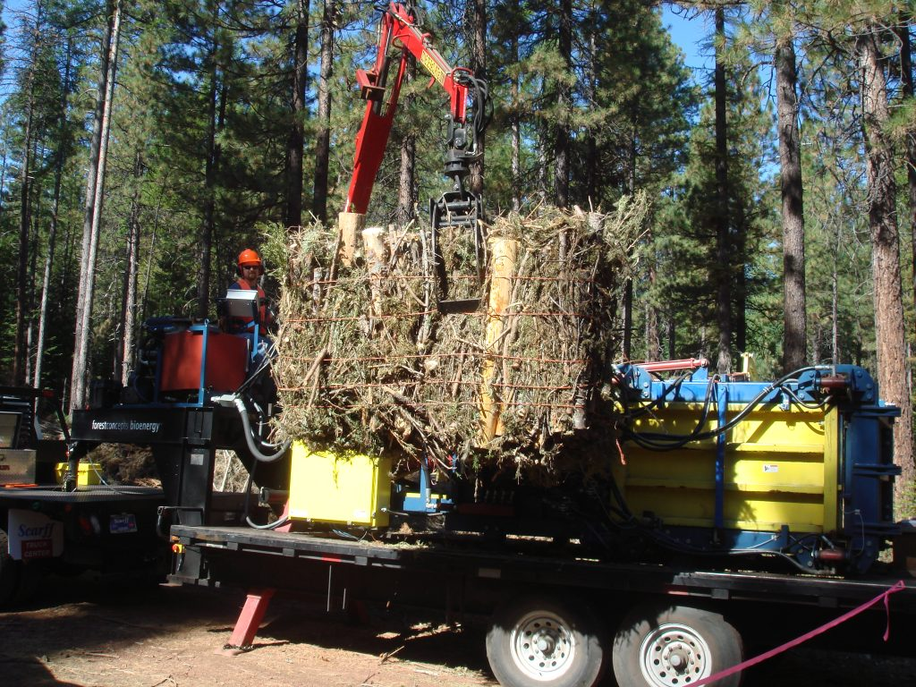 Deschutes Baling Demo