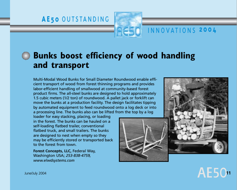 AE50 Outstanding Innovations 2004
