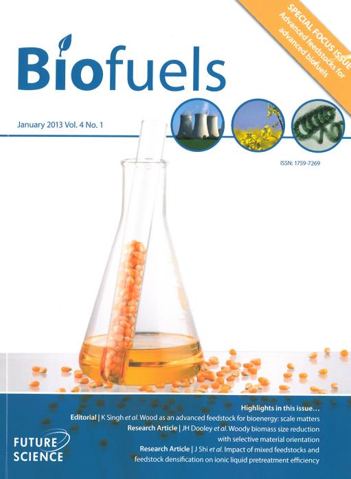 Biofuels Jan 2013