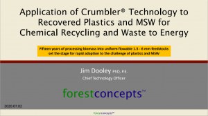 Crumbler Waste to Energy Presentation