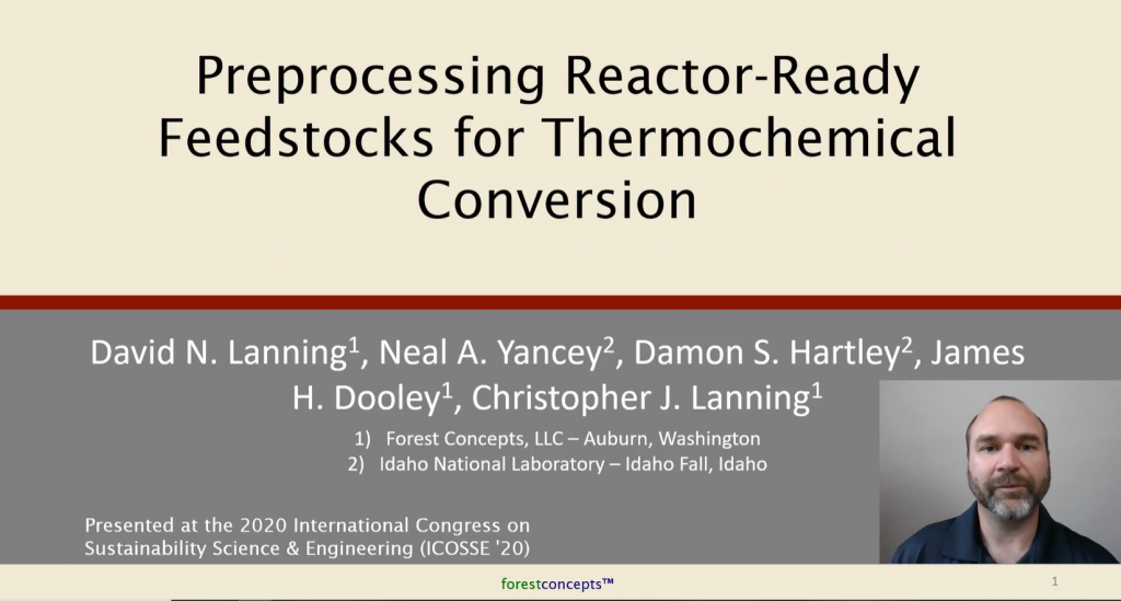Reactor Ready Feedstocks for Thermochemical Conversion