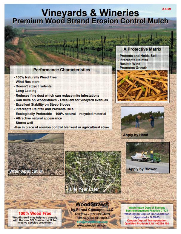WoodStraw Wineries & Vineyards Brochure