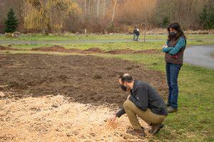 Juanita Bay Park WoodStraw Application