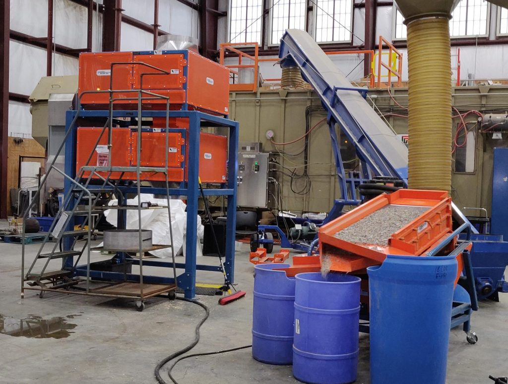 INL Installs Forest Concepts Crumbler System at User Facility